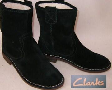 クラークスCLARKSショートブーツ 26109957uk4.5