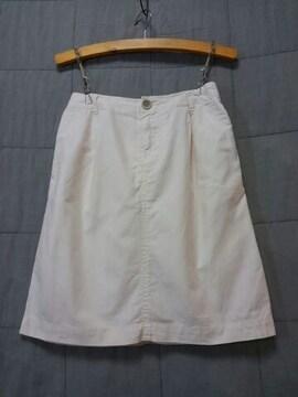 *studio CLIP*綿麻スカート アイボリー 未使用