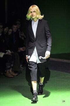 2013AW コムデギャルソン オム プリュス 刺繍 ウール ロング ジャケット