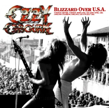 OZZY OSBOURNE BLIZZARD OVER U.S.A .