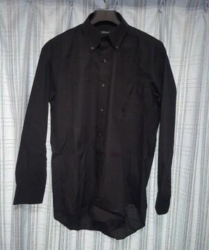 黒のカッターシャツ★美品です!Mサイズ