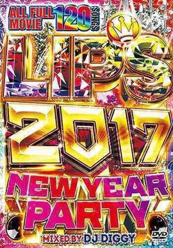 ♪送料無料♪ リップス 2017 NEW YEAR PARTY - DJ DIGGY 3枚組★