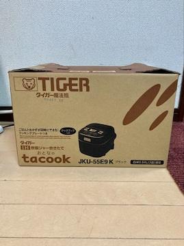 タイガーIH炊飯ジャー炊きたてJKU−55E9K新品未使用品!