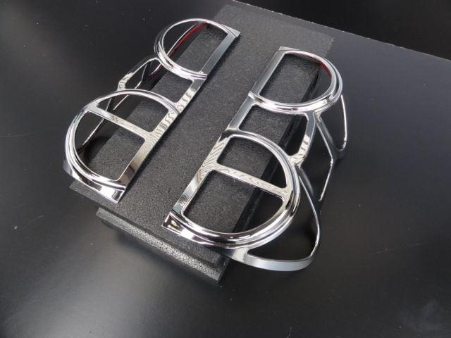 三菱デリカD:3  クロームメッキテールライトリング < 自動車/バイク