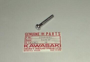 S2 S2A S1 KH250 サイドカバー取り付けネジ  絶版新品