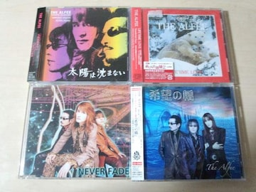 THE ALFEE CDS4枚セット★「NEVER FADE,希望の橋,ほか」
