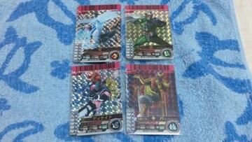 ☆05弾SR(Wファングジョーカー&キバ&ディケイド他)4枚+オマケSRメテオ含25枚