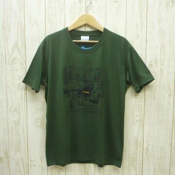 即決☆コロンビア特価CAMP半袖TシャツKHG/Lサイズ (XL ) リラックスフィット