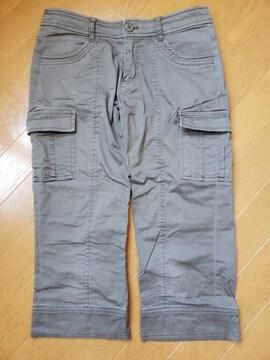 ☆新品同様☆MK KLEIN☆半端丈パンツ☆38