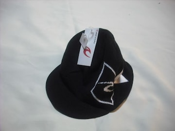 44 男 RIP CURL リップカール リバーシブル つば付き ニット帽