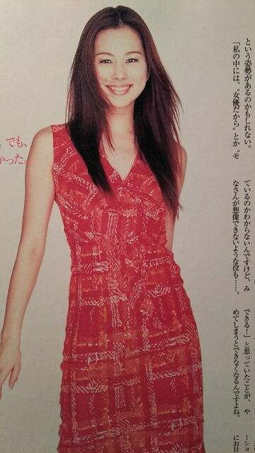 米倉涼子【moniQue】2001年3月号 < タレントグッズの