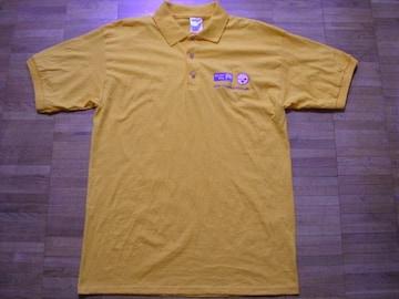 即決USA古着ワンポイントロゴ半袖ポロシャツ!アメカジレア