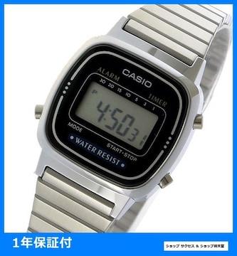 新品即買い■カシオ デジタル レディース 腕時計 LA670WA-1