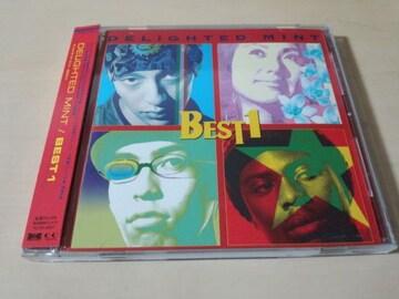 DELiGHTED MINT CD「BEST1」HIP HOP/R&Bユニット●