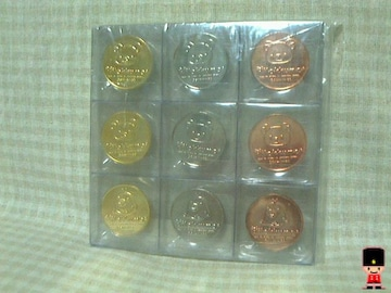 リラックマ◆メダル(金銀銅3色)◆全9種セット