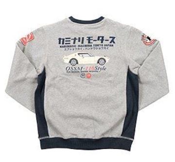 カミナリ雷/ケンメリGTR/スエット/ash/kmsw-200/エフ商会/テッドマン/カミナリモータース