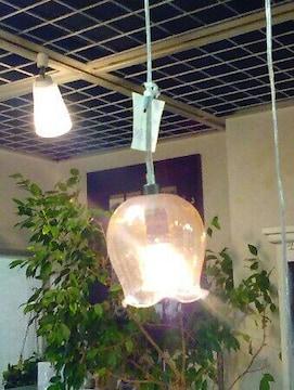 新品 チューリップ 可愛い 洋風 ペンダントライト 照明 ランプ
