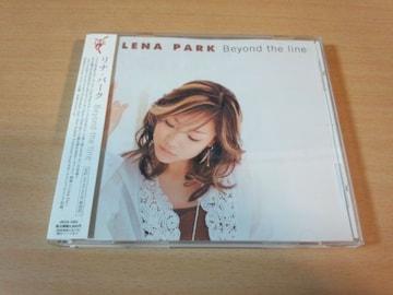 リナ・パークCD「Beyond the line」Lena Park韓国K-POP●
