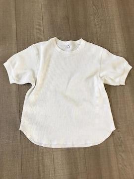 UNIQLOワッフル半袖TシャツS