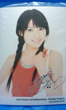 ハロショ渋谷店8周年記念写真メタリックL判2009.7.19/矢島舞美