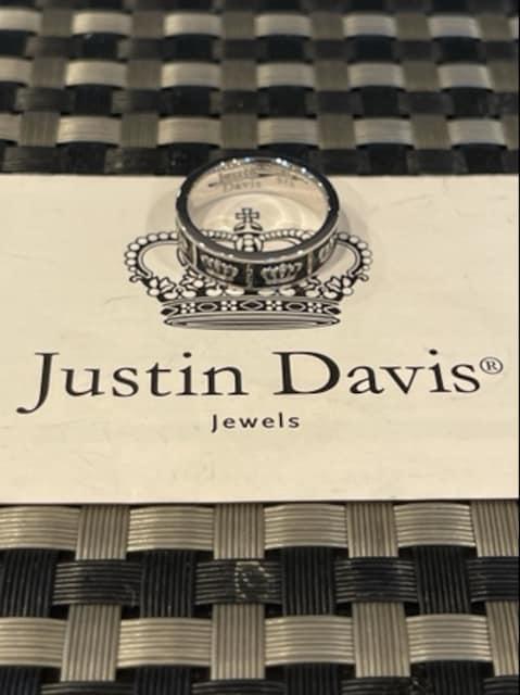 新品◆JUSTIN DAVIS◆OBSESSION RING◆13号◆クラウンリング◆ < ブランドの