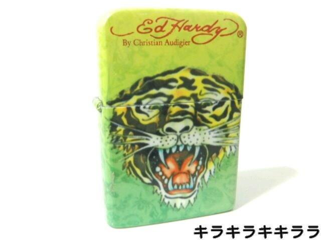 <エドハーディー>タイガー*Classic Tiger★ターボガスライターケース付 < ブランドの