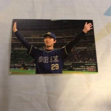 オリックス 田嶋 プロ野球チップスカード2018