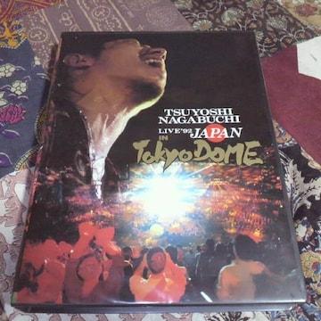 長渕剛live'92JAPAN IN Tokyo DoMEビデオ 2本組