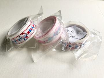【新品】Sanrio サンリオキャラクターズ テープセット