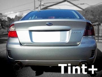 Tint+再利用OK レガシィB4 BL9/BLE後期テールランプ スモークフィルム