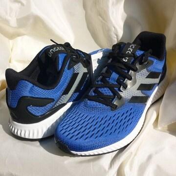 新品◆定価9709円adidasエアロバウンスランニングシューズ27cm