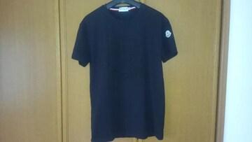 MONCLER 半袖Tシャツ L 黒色 モンクレール ブラック 即決