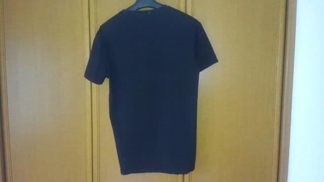 MONCLER 半袖Tシャツ L 黒色 モンクレール ブラック 即決 < ブランドの