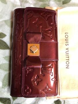 ルイ・ヴィトン。ヴェルニ サラヌーリボン長財布(送料込み)