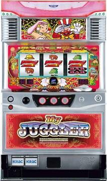 実機 マイジャグラー�U◆コイン不要機付◆