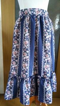 【axes femme】花柄スカート