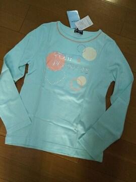 新品タグ付きL(160)ポンポネット長袖Tシャツ