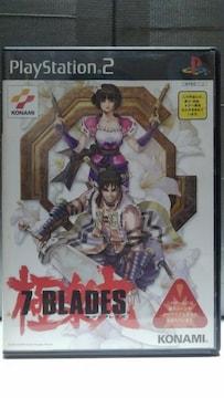 PS2 7BLADES/セブンブレイズ