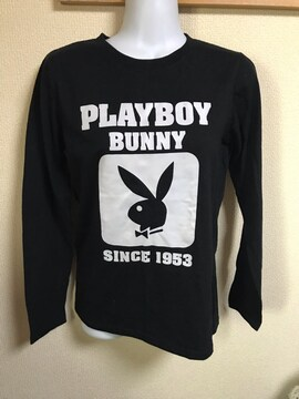 ★PLAYBOY 黒×ロンT  L★