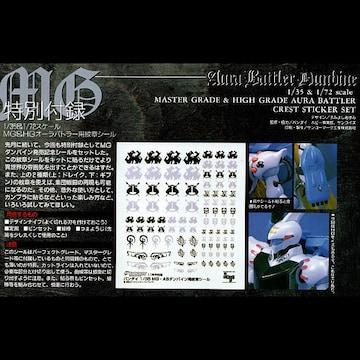 ○MGダンバイン用紋章シールセット 電ホ付録