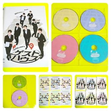 DVD★SUPER JUNIOR-Mのゲストハウス (全話)★レンタル落ち