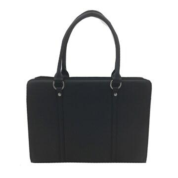 ★就職活動に最適なA4サイズ対応の合皮軽量バッグ