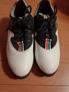 ParadisO ゴルフ用靴 24�p クリーム色系