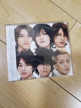 新品未開封 KAT-TUN 「DON'T U EVER STOP」通常盤