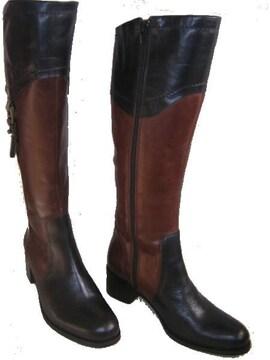 サヴァサヴァ ジョッキー ロング ブーツ 乗馬1602015dbr23cm
