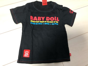 BABY DOLLキッズ半袖Tシャツ★80cm