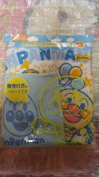 BANDAI★アンパンマン★腹巻き付きのパジャマ★夏用♪90�@ブルー