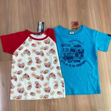 新品タグ付き120半袖Tシャツ2枚セット.10