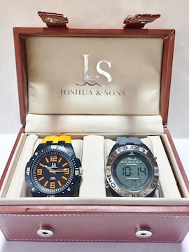 Joshua & Sons by Invicta★2本セット★スイス製クォーツ