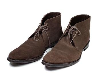 正規リーガル靴ブーツレザースエード25.0cmチャッカブ